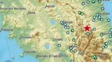 Ancora paura: terremoto magnitudo 5.4 in Centro Italia